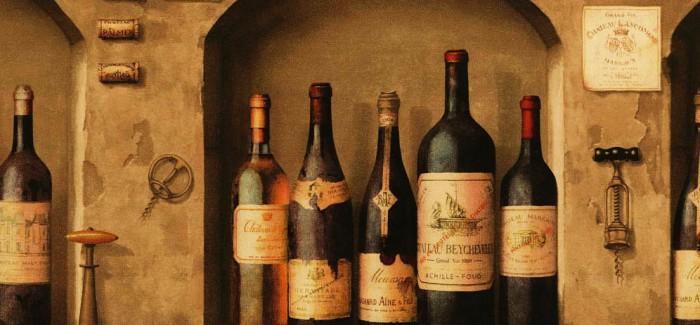 Vinske etikete – Prvi susret sa bocom vina