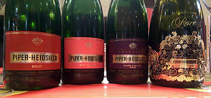 PIPER champagne/šampanjc – degustacija 13. Maj 2016.