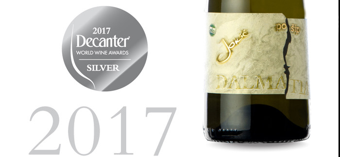 Decanter World Wine Awards – Srebrna medalja za Jokić vino Pošip 2015.